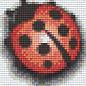 Pixel Hobby Pixelhobby 1 Basisplaat lieveheersbeestje