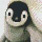 Pixel Hobby Pixelhobby 1 Basisplaat Pinguin
