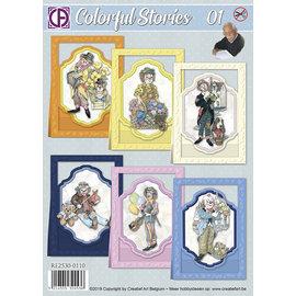 Creatief Art Bunte Geschichten 01