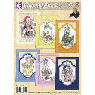 Creatief Art Bunte Geschichten 02