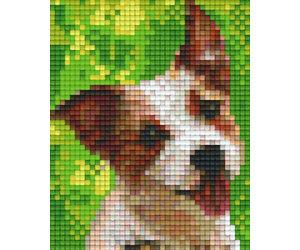 Plaque Pixel 1 Plaque Chien 02