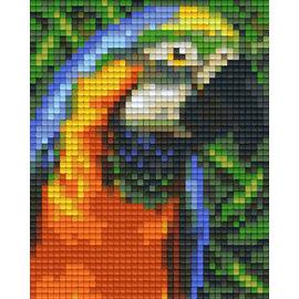 Pixel Hobby Plaque Pixel 1 Base Perroquet