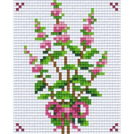 Pixel Hobby Pixel hobby 1 Plaque de base Bloem01