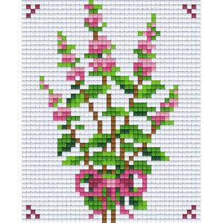 Pixel Hobby Pixelhobby 1 Basisplaat Bloem01