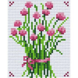 Pixel Hobby Pixelhobby 1 Basisplaat Bloem 02