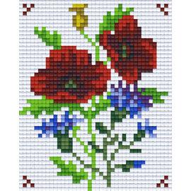 Pixel Hobby Pixelhobby 1 Basisplaat Bloem 05