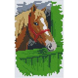 Pixel Hobby Pixelhobby 2 Assiettes Cheval sur clôture
