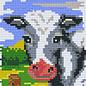 Pixel Hobby Pixelhobby 2 Basisplaten  Koe aan hek