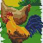 Pixel Hobby Pixelhobby 2 Basisplaten  Boerderij kippen