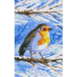 Pixel Hobby Pixelhobby 2 Bodenplatten Vogel am Zweig