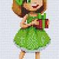 Pixel Hobby Pixelhobby 2 Basisplaten Meisje met cadeau