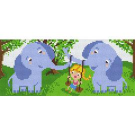 Pixel Hobby Pixel Hobby 3 Grundplatten Steinelefanten