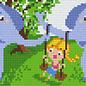 Pixel Hobby Pixelhobby 3 Basisplaten Schommel olifanten