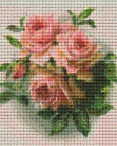 Pixel Hobby 4 Embases Fleurs