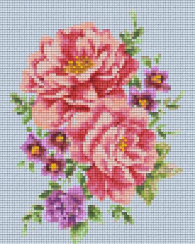 Pixel Hobby 4 Embases Fleurs 02
