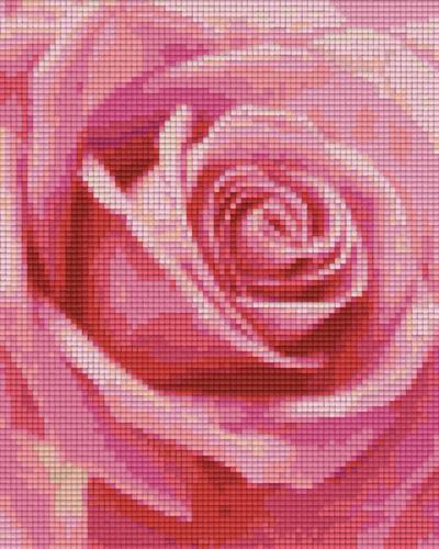 Pixel Hobby 4 Plaques De Base Rose 02