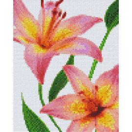 Pixel Hobby pixel hobby 4 Embases - Fleurs 04