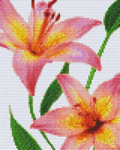 Pixel Hobby 4 Embases Fleurs 04