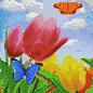 Pixel Hobby Pixel Hobby 4 Grundplatten - Blumen und Schmetterling