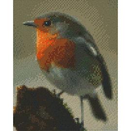 Pixel Hobby Pixelhobby 4 Basisplaten - Roodborstje