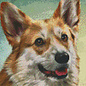 Pixel Hobby Pixelhobby 6 Basisplaten - Hond 03