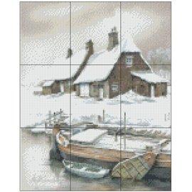 Pixel Hobby Pixel Hobby 9 Bodenplatten - Winterlandschaft