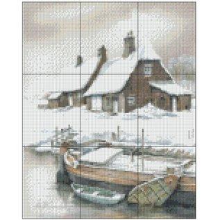 Pixel Hobby pixelhobby 9 Basisplaten - Winterlandschap