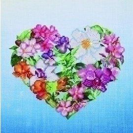 Diamond Dotz Diamond Dotz - Couronne de fleurs