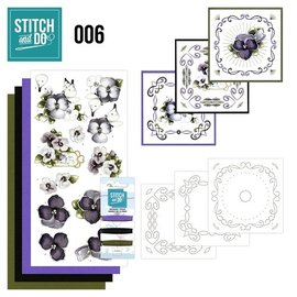 Find It Stitch and Do 6 - Viooltjes