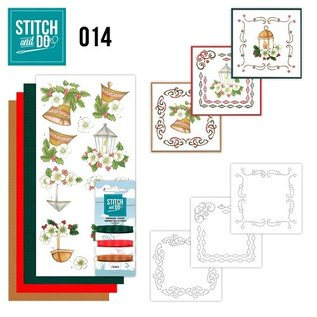 Find It Stitch and Do 14 - Klassieke kerst