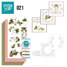 Find It Stitch and Do 21 - Rustic Christmas