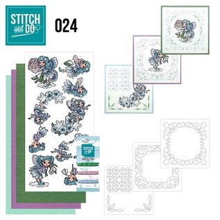 Find It Stitch and Do 24 - Fairies