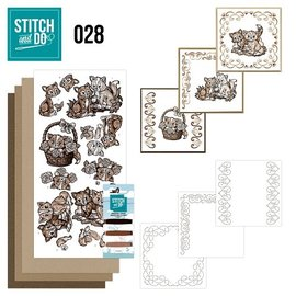 Find It Stitch and Do 28 - Brown Cats