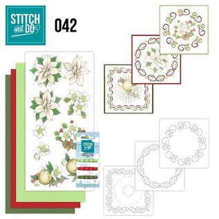 Find It Stitch and Do 42 - White Christmas Flowers