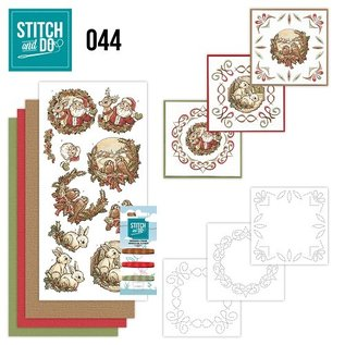 Find It Stitch and Do 44 - Holly Jolly mix