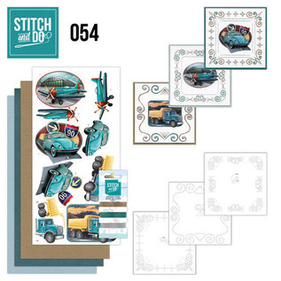 Find It Stitch and Do 54 - Vintage Vehicles