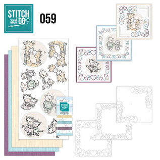 Find It Stitch and Do 59 - I love you