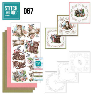 Find It Stitch and Do 67 - Cats