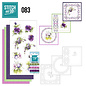 Find It Stitch and Do 83 - Purple Flowers