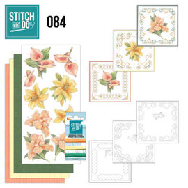Find It Stitch and Do 84 - Yellow Flowers