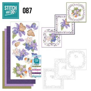 Find It Stitch and Do 87 - Purple Flowers