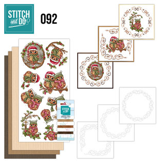 Find It Stitch and Do 92 - Christmas Owls