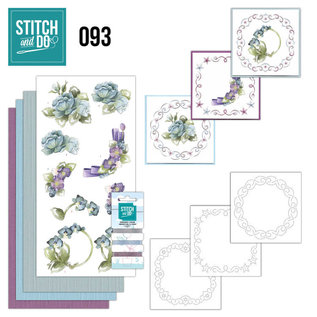 Find It Stitch and Do 93 - Winterflowers