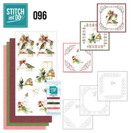 Find It Stitch and Do 96 - Winter Birds