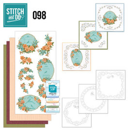 Find It Stitch and Do 98 Floral Birdcages