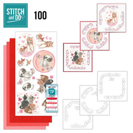 Find It Stitch and Do 100 Playful Pets