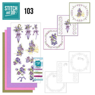 Find It Stitch and Do 103 Flowers in Purple