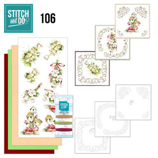 Find It Stitch and Do 106 Pink Spring Flowers