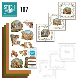 Find It Stitch and Do 107 Wild Animals