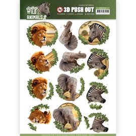 Find It Doordrukvel - Amy Design - Wild Animals africa